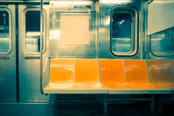 New York City Subway Seats